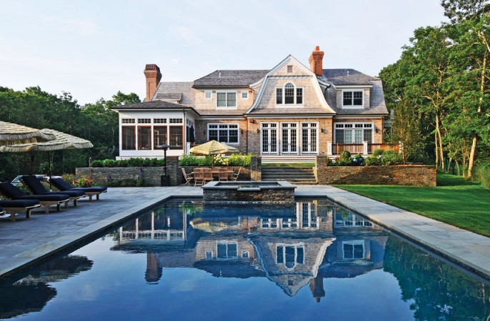 My hampton homes amagansett real estate for Pool design hamptons