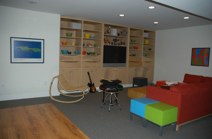 <span>lower level play area</span>