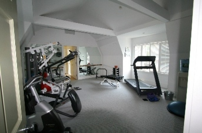<span>exercise room</span>