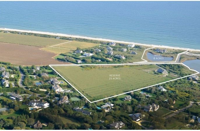 <span>8 acre oceanfront & optional pondfront 23 acre reserve</span>