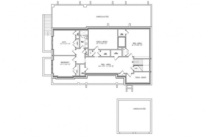 <span>lower level floor plan</span>