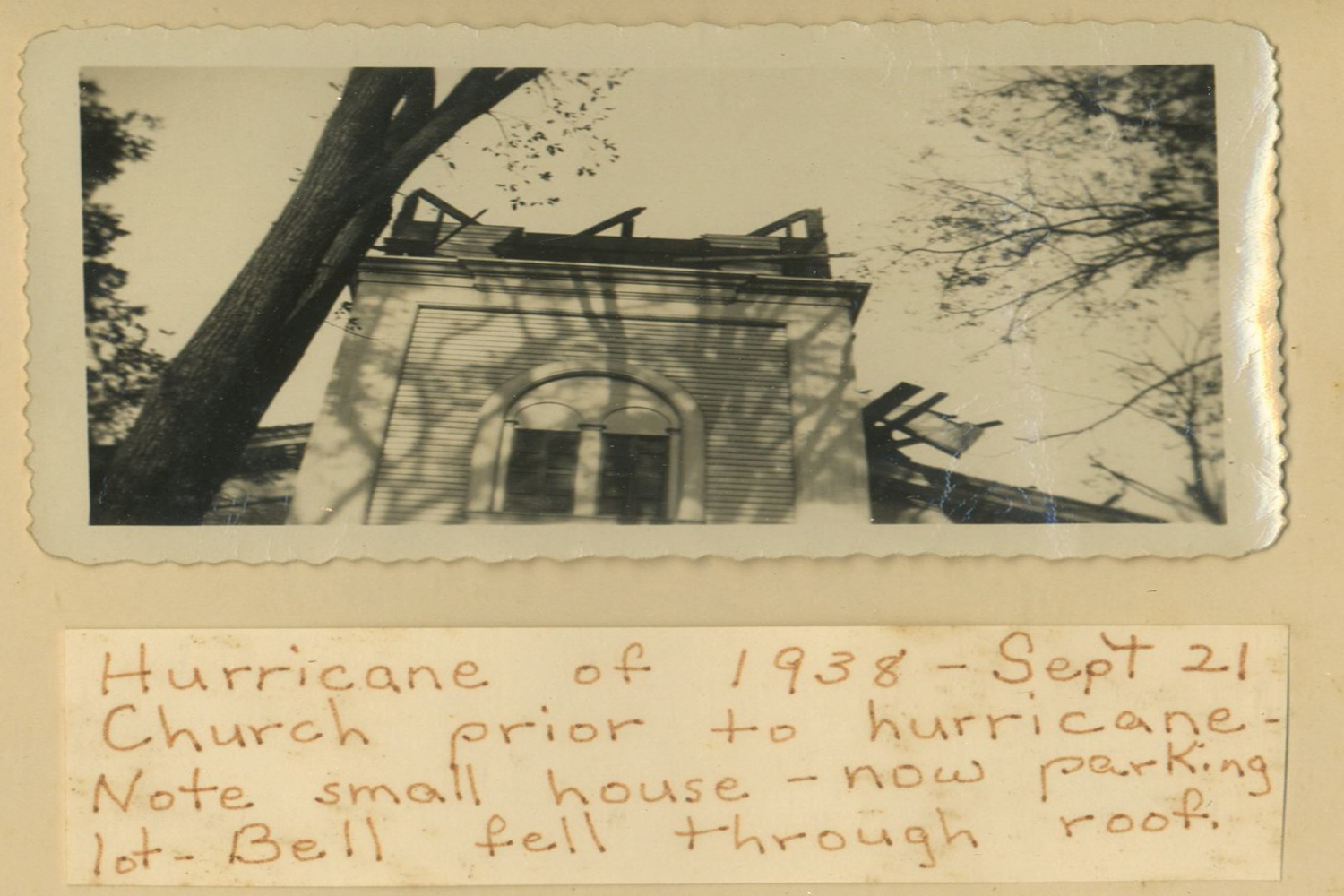 <span>post hurricane of 1938</span>