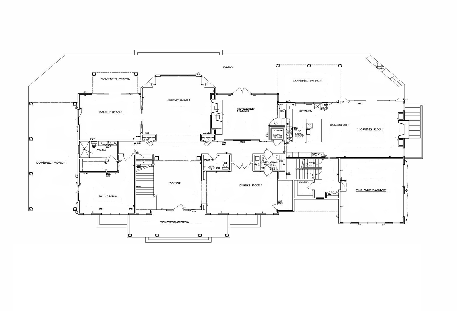 <span>proposed first floor plan</span>