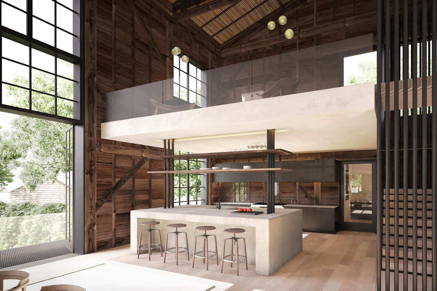 <span>Kitchen Rendering</span>