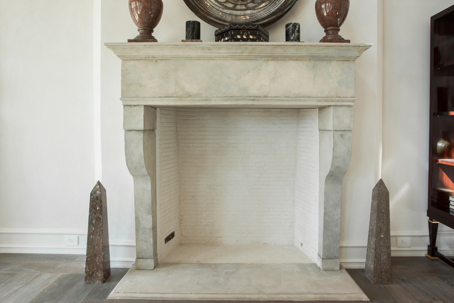 <span>long room fireplace detail</span>
