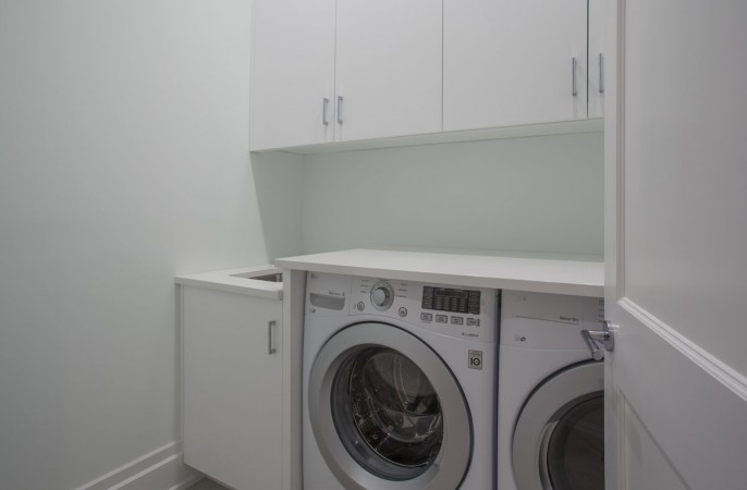 <span>lower level laundry room</span>