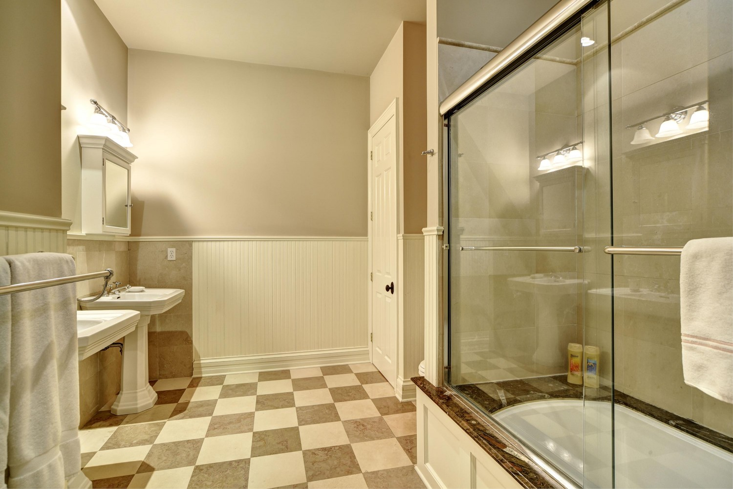 <span>1st floor guest bathroom</span>
